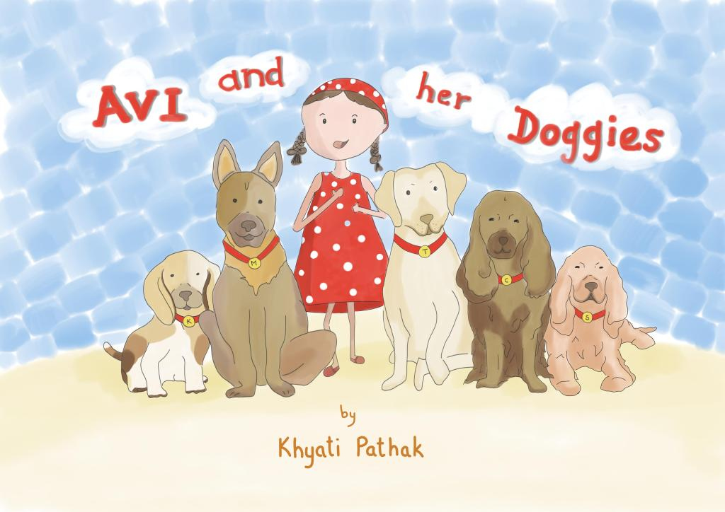 Cover page of the book Avi and Her Doggies